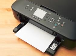 Juodas spausdintuvas